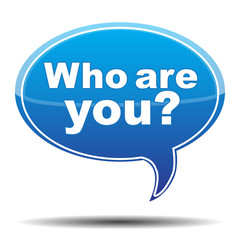 WHO ARE YOU? ICON