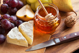 Cheese with Honey