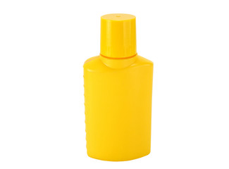 yellow bottle
