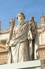 San Paul Basilica di San Pietro a Roma (Statue of St. Paul)