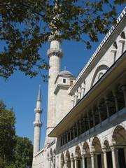 Минареты мечети Сулеймание