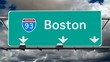 Boston - Interstate 93 Sign Time Lapse
