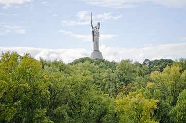 Monument 'Motherland' in Kiev