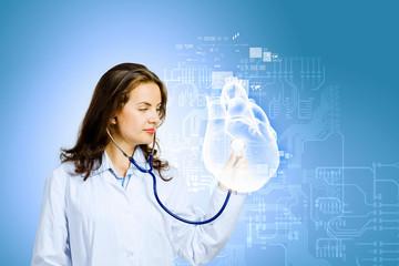 Woman cardiologist
