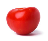 Red Tomato. on the background