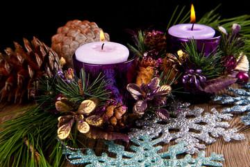 candele natalizie