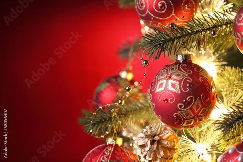 Christmas-tree decorations - 58056407