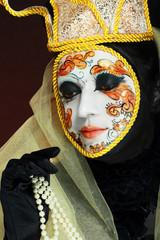 Venetian mask make up