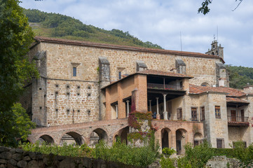 famous Monastery of Yuste, Extremadura, Spain