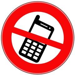 знак разговоры по телефону запрещены