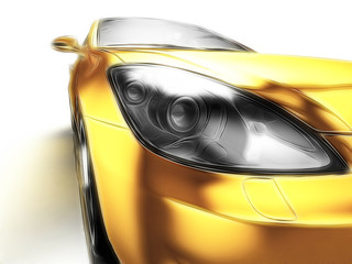 Car design background.