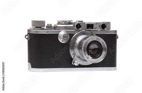canvas print picture Alte Camera. Freigestellt.