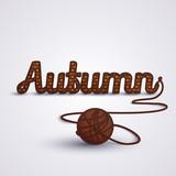 Autumn concept Knit