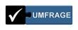 Puzzle-Button schwarz blau: Umfrage