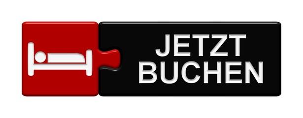 Puzzle-Button rot schwarz: Jetzt buchen