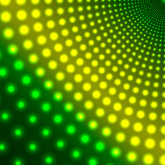 abstract background of shimmering circles.luminous design.neon e