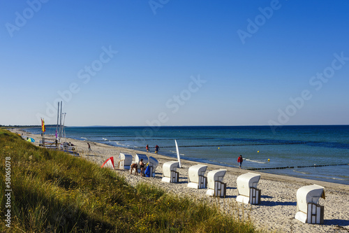 canvas print picture Weststrand Hiddensee