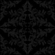 Seamless floral charcoal Pattern.