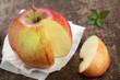 Apfel und Minze