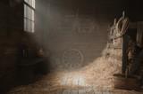 Scenery in the village barn studio