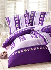 Bettwäsche violett