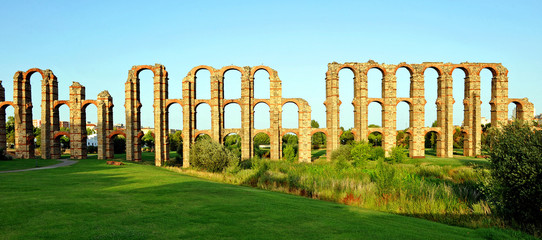 Roman Aqueduct of Los Milagros, Merida, Spain