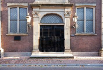 Historcial Gated Entrance
