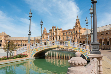 Seville Spain Plaza de Espana
