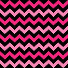 Cute Chevron seamless pattern ( black and pink )