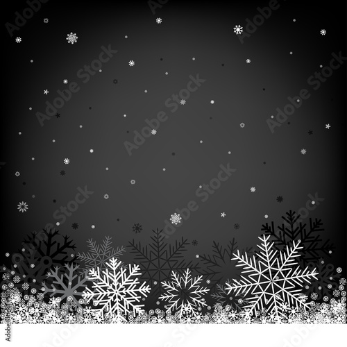 christmas black background