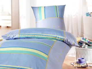 Bettwäsche blau