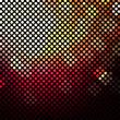 Dark Mosaic Background With Sphere
