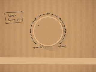 Carton knob with text vector