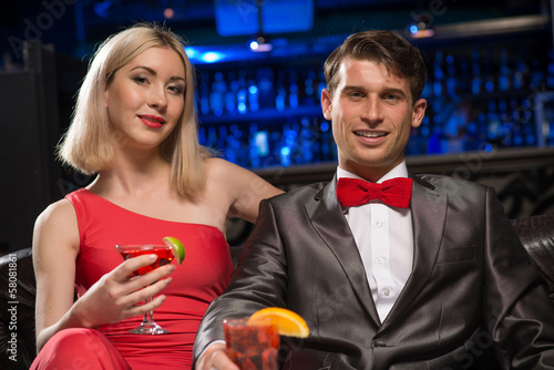 couple in a nightclub