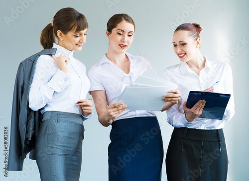 group of business women