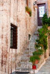 Pretty old courtyard