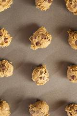 Homemade Chocolate Chip Cookie Dough