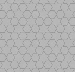 Gray Hexagon Patterned Textured Fabric Background