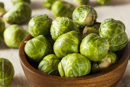Organic Green Brussel Sprouts - 58083653