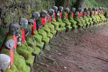 Japan Buddhist statues in Nikko