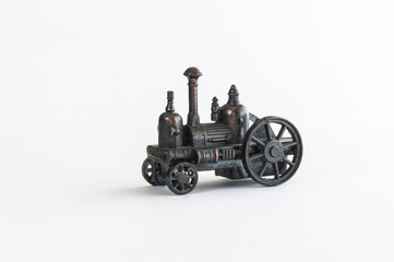 Steam vehicle pencil sharpener
