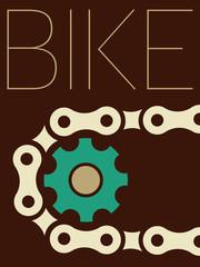 Vector Minimal Design - Bike