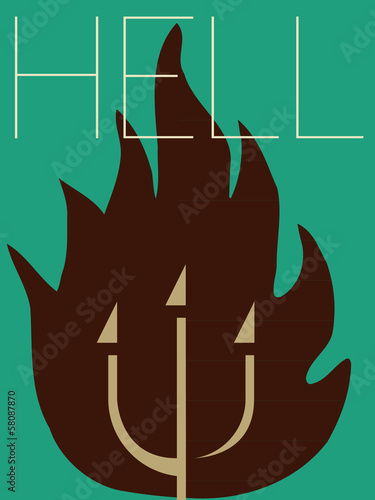 Vector Minimal Design - Hell