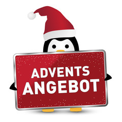XMAS Pinguin *** Advents Angebot