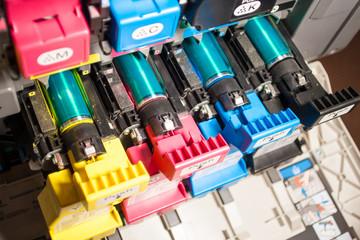 Druckwerk eines Farb-Laserdruckers