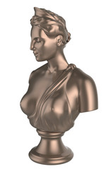 bust of the queen
