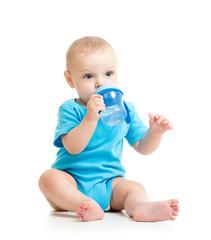 kid child drinking from bottle