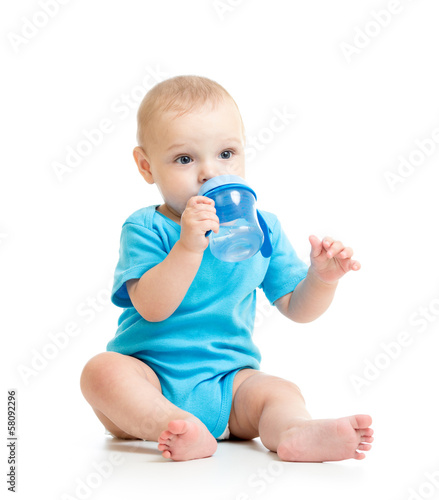 kid child drinking from bottle
