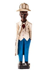 black man statuette