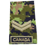 The Canadian Armed Forces Rank Insignia poster